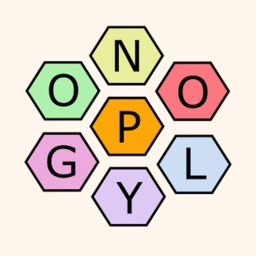 Polygon2 - word wheel train you brain to find as many words as possible from the seven letters