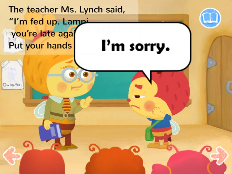 Kids Story Books-Lampi HD1 (preposition UP) screenshot-3