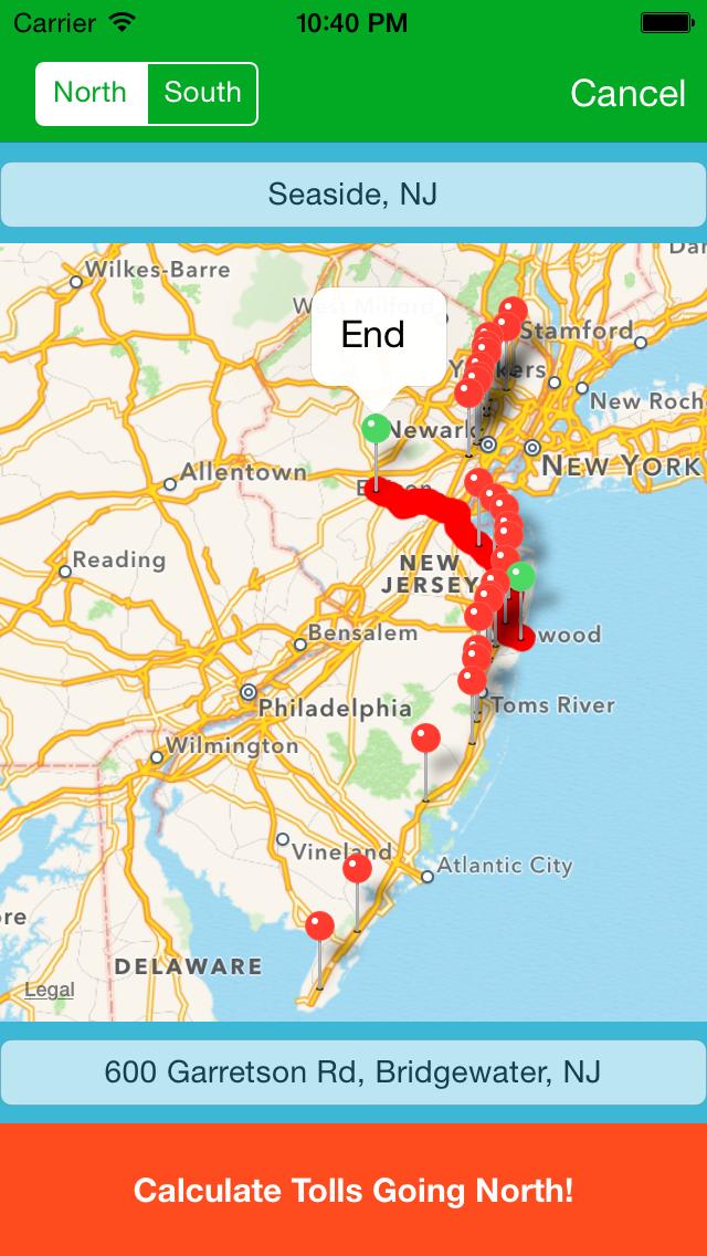 NJ Toll screenshot four