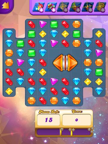 Action Jewel Matching HD Pro screenshot 3