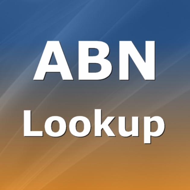 ABN Lookup on the App Store