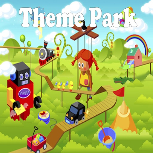 Theme Park.Learning Games for Children icon