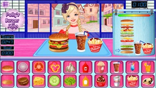 Polly Burger Shop Game screenshot two