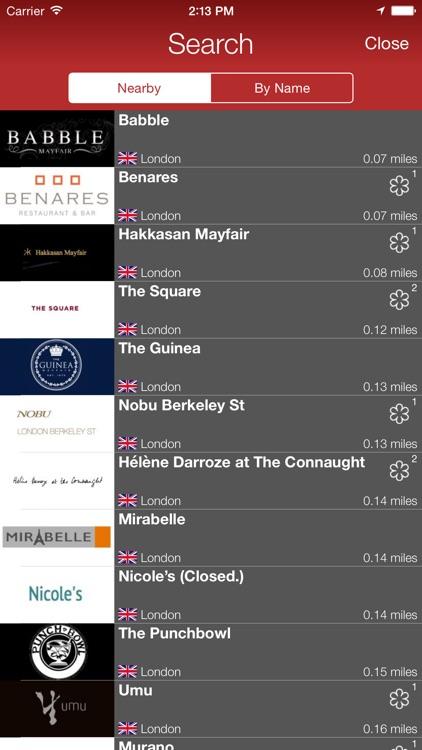 FineDiner - your restaurant journal screenshot-4