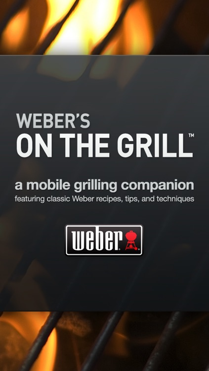 Weber's On the Grill™ screenshot-0