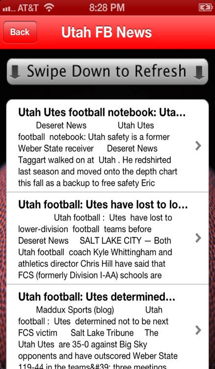 Football News - Utah Utes Edition