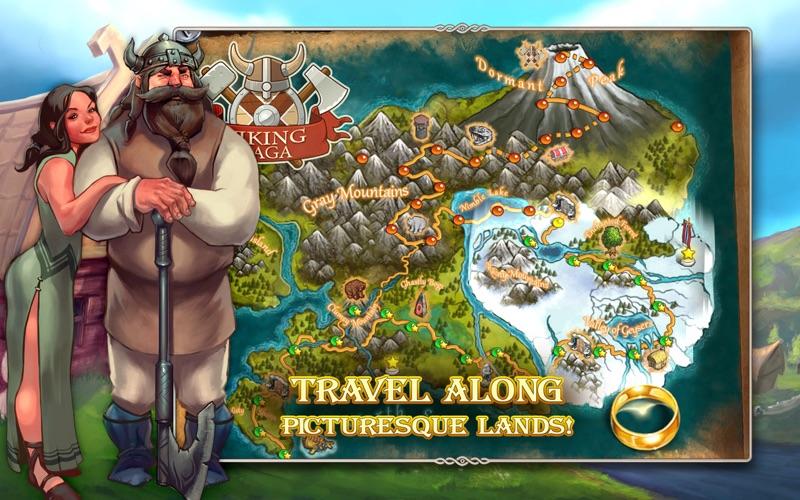 Viking Saga The Cursed Ring (Free) screenshot 2