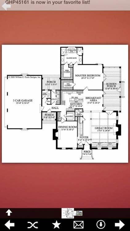 Georgian House Plans screenshot-3