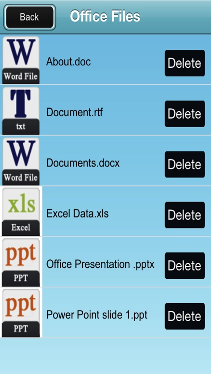 Document writing on the go - Documents manager , writer and Viewer for iPhone and iPad screenshot-1