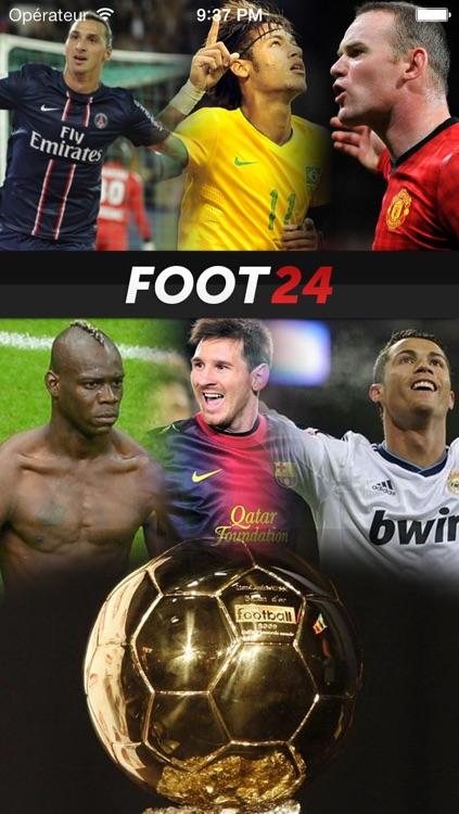 Foot 24: Actu foot, Mercato, Résultats screenshot-3