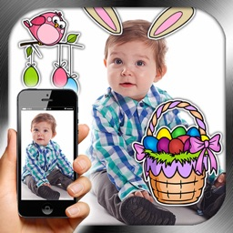 Photo Stickers Easter Eggs