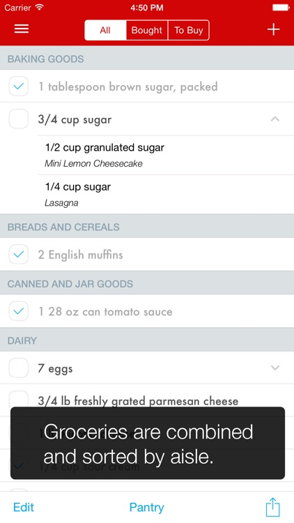 Paprika Recipe Manager for iPhone screenshot-3