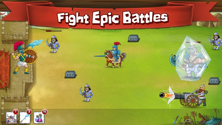 Spartan Warrior :: Fight of Clans screenshot-4