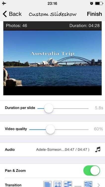 SlideshowCast – Make Photo Video Music Slideshow & Cast on TV through Chromecast screenshot-3