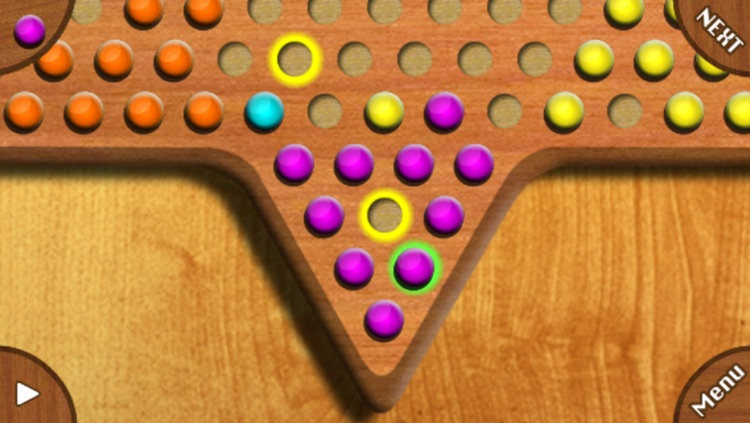 (Int'l) Chinese Checkers screenshot-0