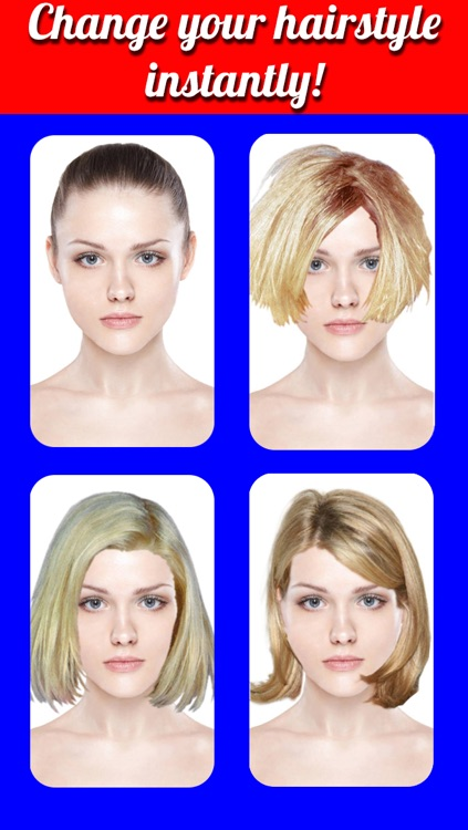 Hairstyles Makeover Pro- Virtual Hair Try On to Change yr look screenshot-4