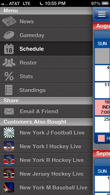New York G Football Live screenshot-3