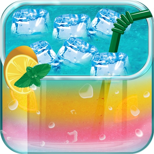 Cocktail Ice & Iced Drinks Maker Lite - Kids Games