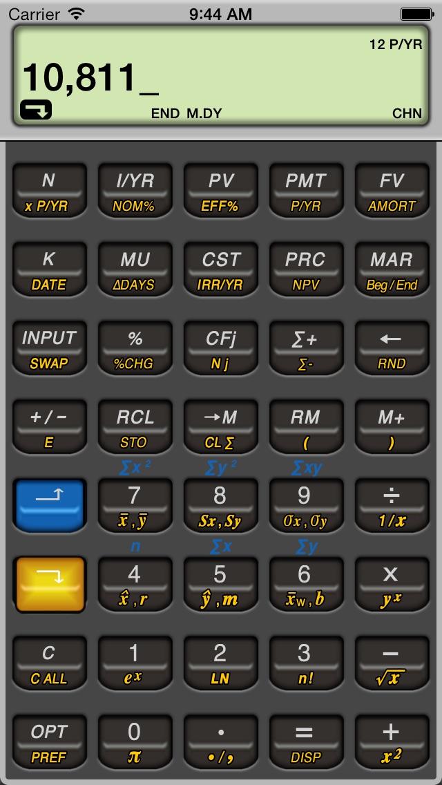 10bll Financial review screenshots