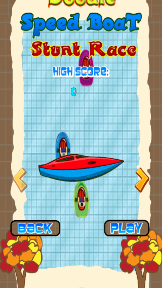 Doodle Speed Boat Stunt Race - Free Jet Ski Racing Game screenshot two
