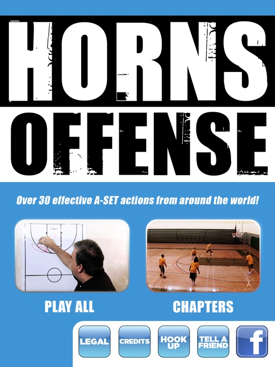 HORNS Offense: Powerful Scoring Plays Using The A-Set - With Coach Lason Perkins - Full Court Basketball Training Instruction - XL
