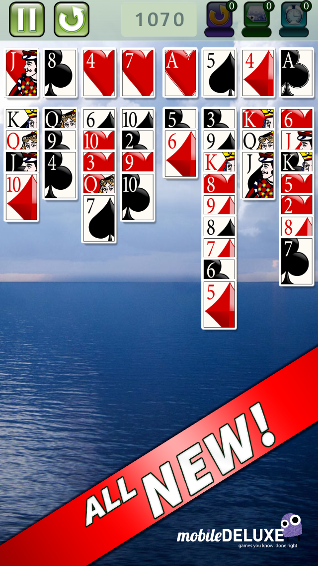 FreeCell Deluxe® Social – The Hit New Solitaire Game