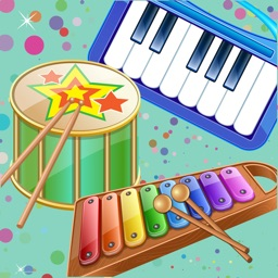 Kids Musical Instruments - Play music with real instrument sounds