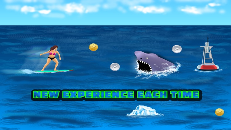 Surf the waves, the hardest summer game ever - Free Edition screenshot-3