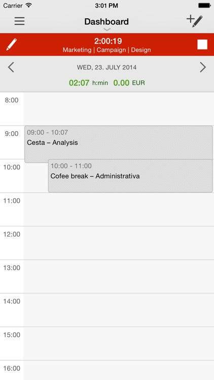 Time Tracking by primaERP screenshot-3