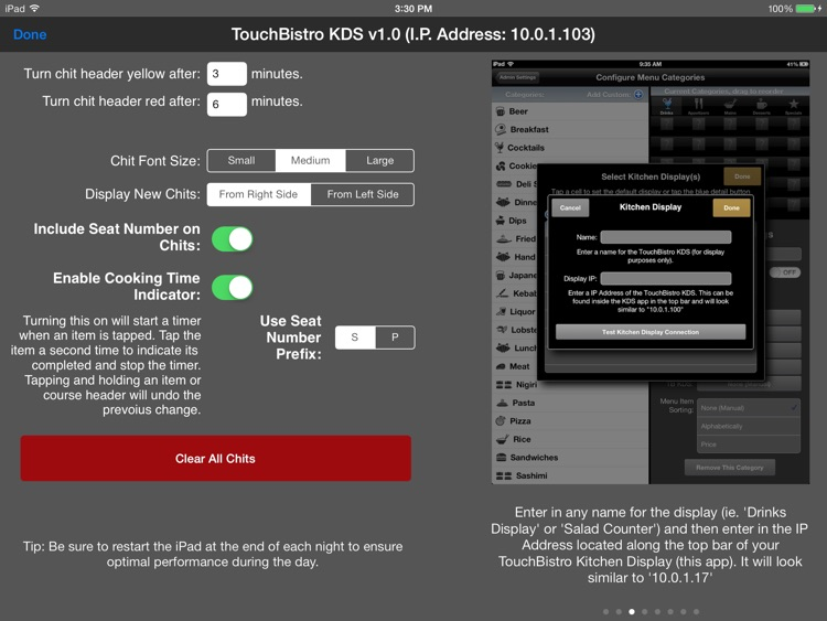 TouchBistro Kitchen Display System screenshot-3