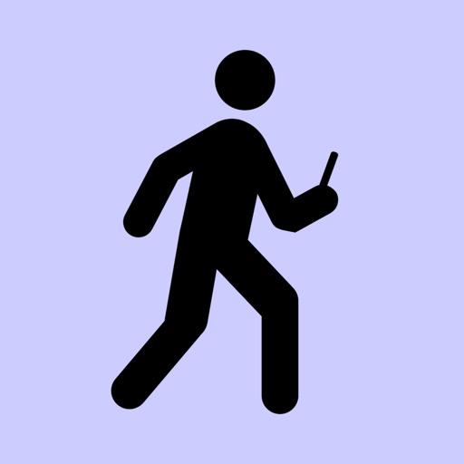 Type & Walk - Free icon