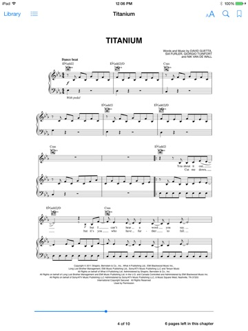 Titanium Sheet Music By David Guetta On Apple Books