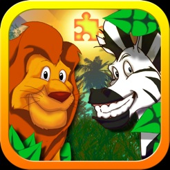 jigsaw zoo animal puzzle kids jigsaw puzzles with funny cartoon animals 4 - Kids Cartoon Animals