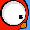 強大な 鳥 Mighty Bird: 不可能 ゆるい 冒険 終わりのない 空 飛行 旅 新しい 伝説の アクション ゲーム ヒーロー 小さな 翼 スーパー 大きい 視線 かわいい スマッシュ ヒット 顔 cute big eyes flappy - iPhoneアプリ