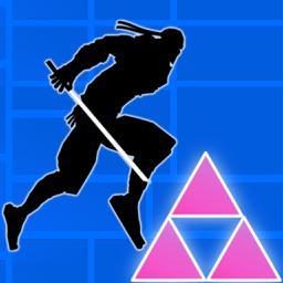 Amazing Ninja Dash - Run n Jump or Fall n Die
