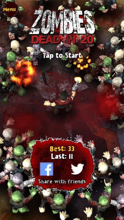 Zombies: Dead in 20 Free screenshot-4