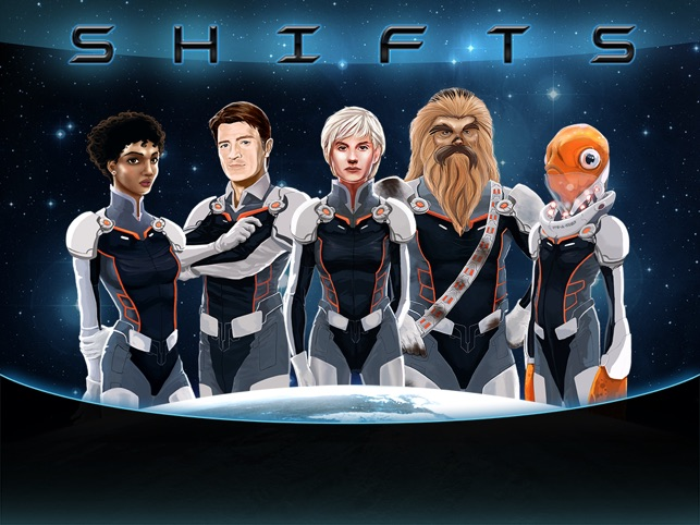 Shifts: A survival strategy game in space Screenshot