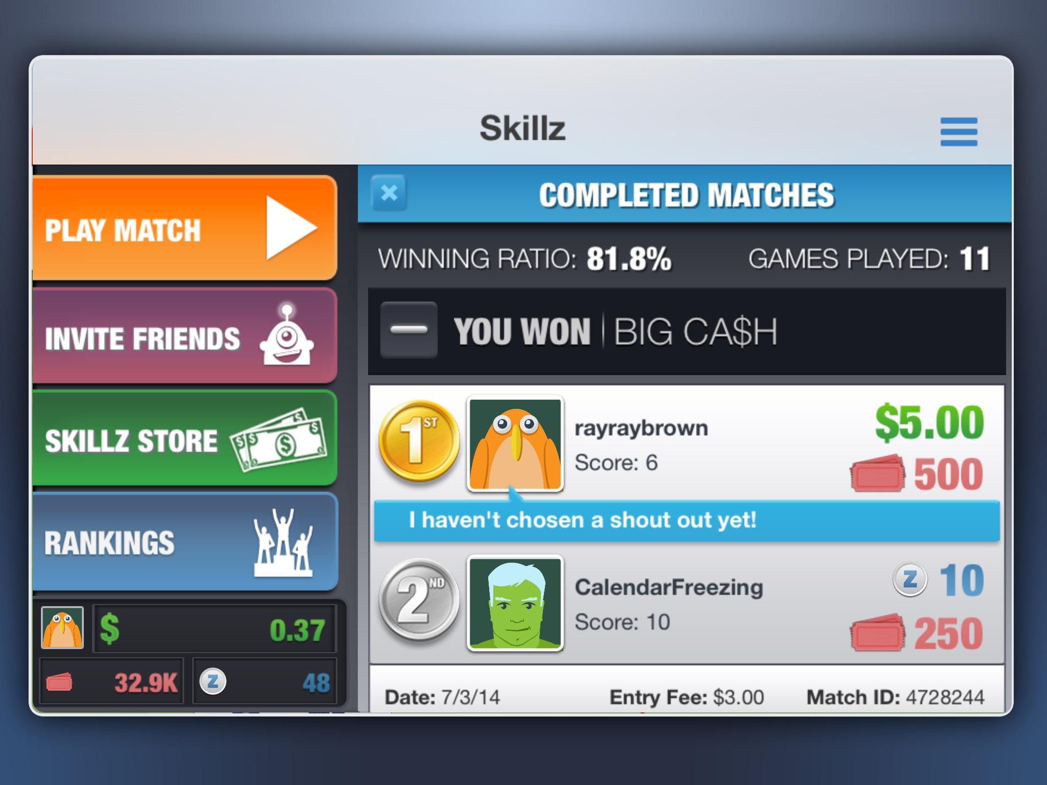Real Money Gaming