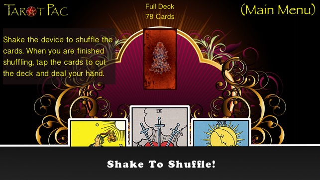 TarotPac Free Tarot Cards on the App Store
