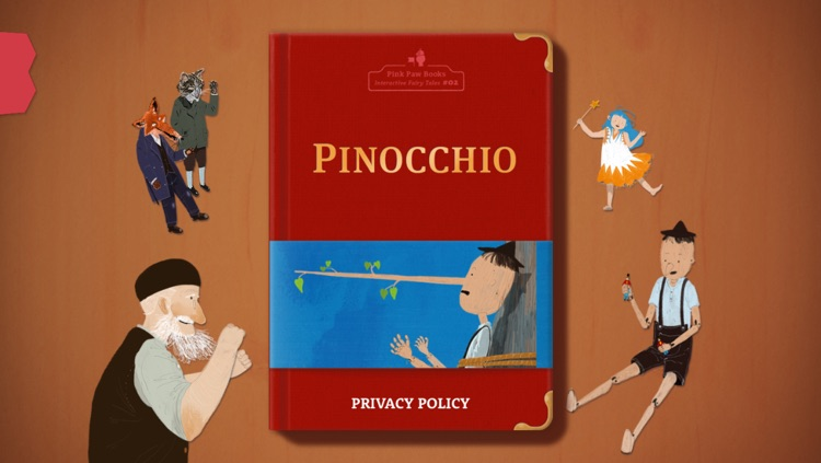 Pinocchio - Pink Paw Books Interactive Fairy Tale Series