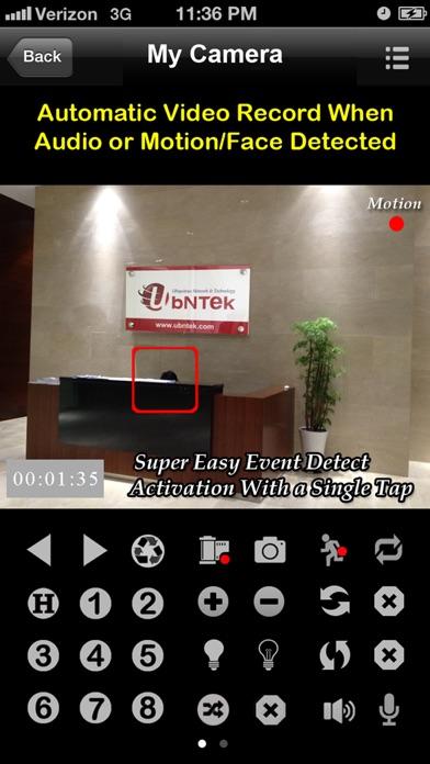 uTrendnetCam: Audio & Record screenshot one