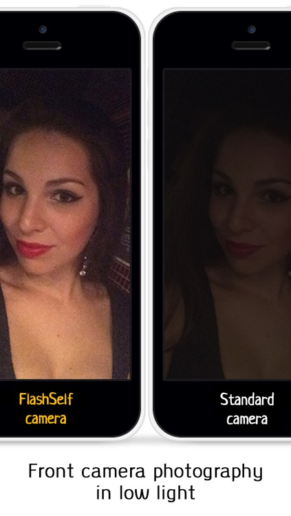 FlashSelf - Take Awesome Bright Front Camera Selfies in Low Light