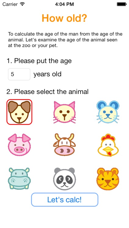 How old? for iOS