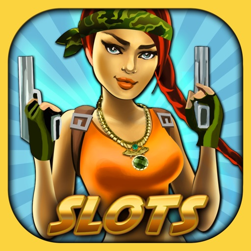 Ace Vegas Slots - Lucky Raiders of Lost Temple Booty Jackpot Casino Slot Machine Games Free