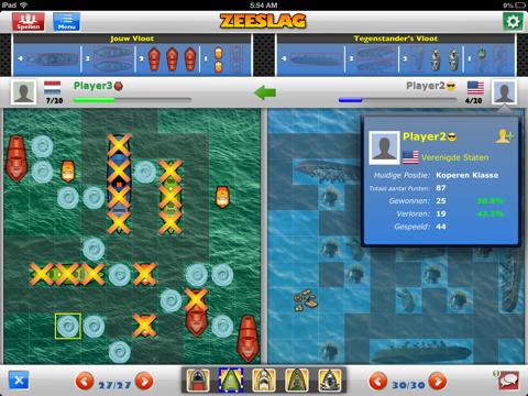 Zeeslag iPad app afbeelding 3