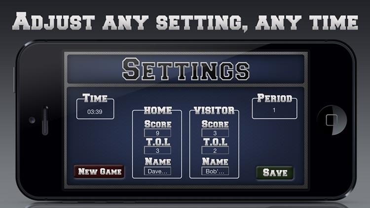 Football Scoreboard screenshot-3