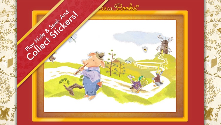 The Little Red Hen - A Little Golden Book App screenshot-4