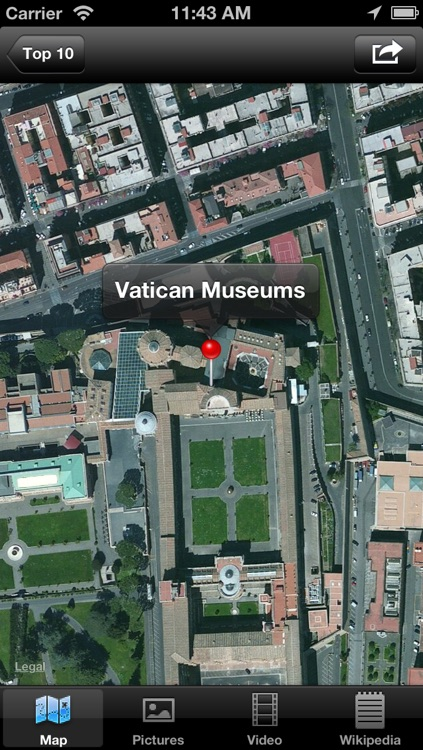 Vatican City : Top 10 Tourist Attractions - Travel Guide of Best Things to See screenshot-4