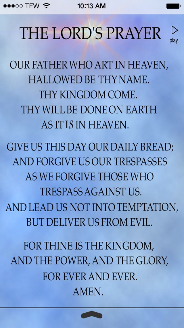 The Lords Prayer Anointed-2