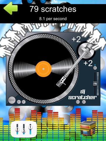DJ Scratcher Tap Clicker Speed Mania Record Scratch Game-ipad-1